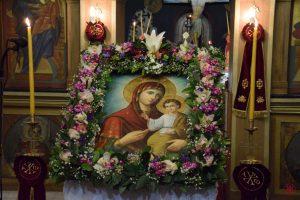 Οι Γ΄ Χαιρετισμοί της Υπεραγίας Θεοτόκου στην Ιερά Μητρόπολη Μεγάρων και Σαλαμίνος