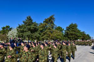 Ορκωμοσία των Νεοσυλλέκτων Οπλιτών της 34ης Ταξιαρχίας Πεζικού εις το Στρατόπεδο «Επιλάρχου Θωμά Προκοπίδη» στην περιοχή της Ασσήρου.