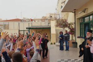 Ποιμαντικές επισκέψεις του Μητροπολίτου Σύρου σε Εκπαιδευτήρια