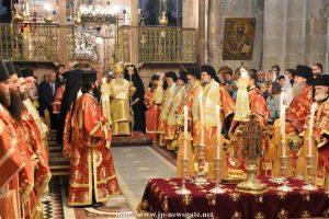 Ο Πατριάρχης Ιεροσολύμων Θεόφιλος εόρτασε τα ονομαστήριά του