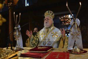 Την Κυριακή της Σταυροπροσκυνήσεως στον Ι. Ν. Εσταυρωμένου Ταύρου χοροστάτησε ο Σεβασμιώτατος Μητροπολιτης Κορωνείας κ. Παντελεήμων.
