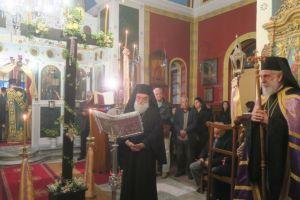 Οι Χαιρετισμοί του Τιμίου Σταυρού στη Σύρο