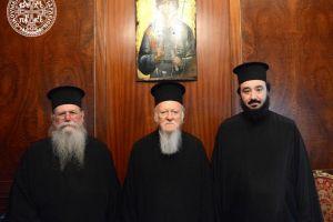 Ο Μητροπολίτης  Φιλίππων, Νεαπόλεως και Θάσου Στέφανος  στο Οικουμενικό Πατριαρχείο