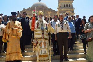 Λαμπρά πανήγυρις του Αγίου Γεωργίου Παλαιού Καΐρου, στο παλαίφατο Πατριαρχείο Αλεξανδρείας