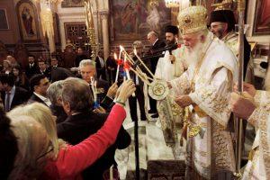 Η Ανάσταση του Κυρίου στον Καθεδρικό Ναό της Αθήνας