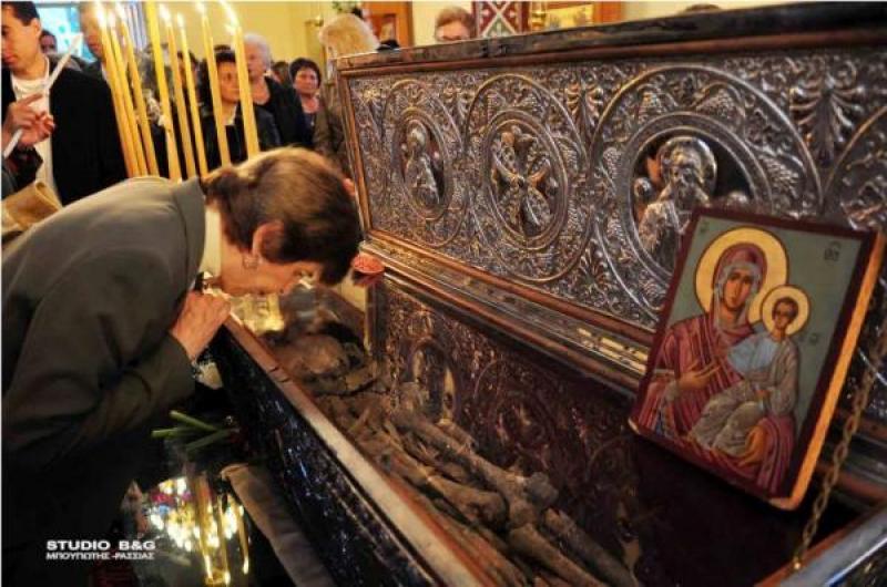 Ιερά πανήγυρις επι τη μνήμη του Αγίου Ενδόξου Μεγαλομάρτυρος Λεωνίδου του εν Επιδαύρω και των επτά Αγίων Παρθενομαρτύρων