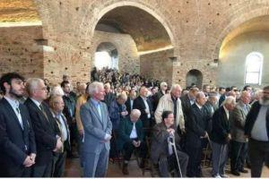 Πλήθος κόσμου στη Ροτόντα για την εορτή του Αγίου Γεωργίου
