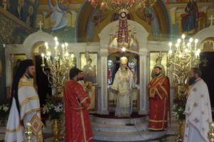 """Κορίνθου Διονύσιος: """"Ο Αγιος Γεώργιος θα βοηθήσει να ελευθερωθούν οι Ελληνες στρατιώτες"""""""
