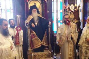 Σε κλίμα κατάνυξης η Απόδοση της εορτής της Παναγίας Τρυπητής στο Αίγιο