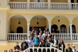 Με μαθητές από τη Μυτιλήνη συναντήθηκε ο Σπάρτης Ευστάθιος