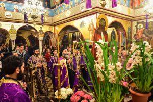 Η Ακολουθία του Νυμφίου , εις τον Ιερό Ναό Κοιμήσεως της Θεοτόκου Λαγκαδά