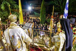 Η Ανάσταση του Κυρίου ημών Ιησού Χριστού εορτάσθηκε εις την Ιερά Μητρόπολη Λαγκαδά, Λητής και Ρεντίνης.
