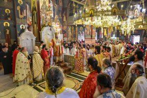 Τελέστηκε το πρωί της Κυριακής του Πάσχα ο Εσπερινός της Αγάπης, εις τον Ιερό Μητροπολιτικό Ναό Αγίας Παρασκευής Λαγκαδά