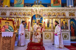 Eορτάστηκε εις την Ιερά Μητρόπολη Λαγκαδά, Λητής και Ρεντίνης, η Κυριακή του Θωμά, κατά το διήμερο της 14ης και 15ης Απριλίου