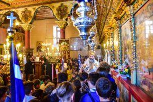 Eορτάσθη εις την Ιερά Μητρόπολη Λαγκαδά, Λητής και Ρεντίνης, η Μνήμη του Αγίου Μεγαλομάρτυρος Γεωργίου του Τροπαιοφόρου.