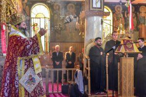 O Σεβασμιώτατος Μητροπολίτης Λαγκαδά, Λητής και Ρεντίνης κ.κ. Ιωάννης, ιερούργησε εις τον Ιερό Ναό του Αγίου Γεωργίου Ξυλοπόλεως.