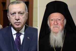 Σήμερα συνάντηση Οικουμενικού Πατριάρχη- Ερντογάν