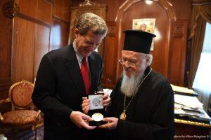 Επίσκεψη του Πρέσβη Samuel Brownback, επικεφαλής της υπηρεσίας θεμάτων διεθνούς θρησκευτικής ελευθερίας των ΗΠΑ