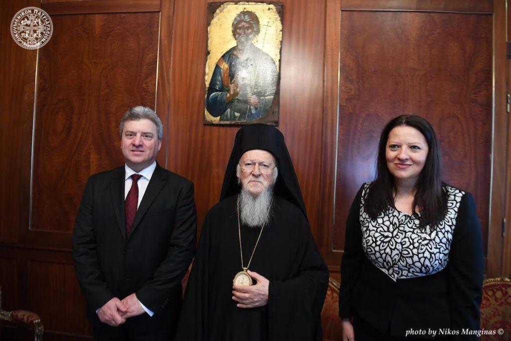 Διαδοχικές επισκέψεις των Προέδρων της Βοσνίας- Ερζεγοβίνης, κ.Mladen Ivanic και της FYROM, κ. Gjorge Ivanov στο Οικουμενικό Πατριαρχείο