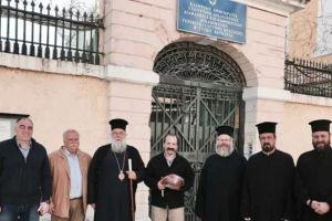 Επισκέψεις του Σεβ. Κερκύρας Νεκταρίου λόγω του Αγίου Πάσχα