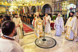 Eορτάστηκε την Κυριακή των Μυροφόρων εις την Ιερά Μητρόπολη Λαγκαδά, Λητής και Ρεντίνης