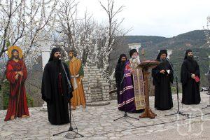 Μεγάλη Εβδομάδα 2018, στο Μοναστήρι του Τρικόρφου Φωκίδος