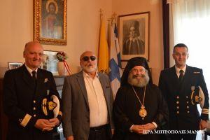 Ο Μητροπολίτης Μάνης Χρυσόστομος δέχθηκε τον Υπουργό Παναγιώτη Κουρουμπλή