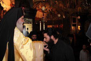 Ο νέος μοναχός πήρε το όνομα Πορφύριος