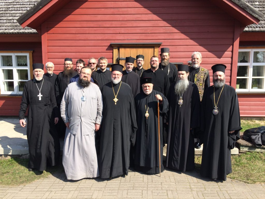 You are currently viewing Με θέμα την Αγία και Μεγάλη Σύνοδο η Ιερατική Σύναξη της Εκκλησίας της Εσθονίας