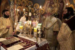 O εορτασμός του Αγίου Γεωργίου στην Μητρόπολη Θηβών