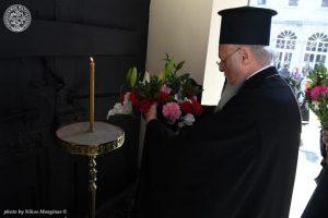Τη μνήμη του  Πατριάρχη του μαρτυρίου Γρηγορίου Ε',τίμησε ο  Πατριάρχης του Γένους Βαρθολομαίος