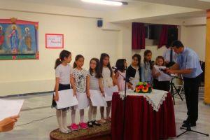 Εκδήλωση λήξης Κατηχητικών Σχολείων Ι.Ν. Αγίας Σοφίας Ν. Ψυχικού-αφιερωμένη στα παιδιά που δεν έχουν πρόσβαση σε νερό