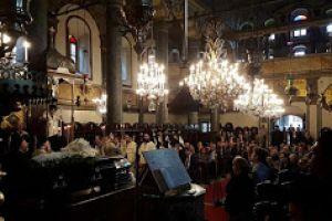 Τελέσθηκε στο Φανάρι η εξόδιος ακολουθία για τον Μακαριστό Πέργης Ευάγγελο