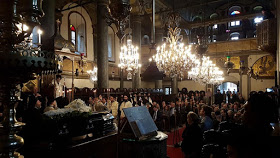You are currently viewing Τελέσθηκε στο Φανάρι η εξόδιος ακολουθία για τον Μακαριστό Πέργης Ευάγγελο
