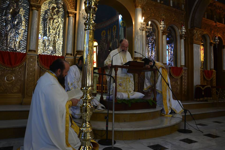 You are currently viewing Κυριακή της Πεντηκοστής στον Καθεδρικό Ναό του Αγίου Ελευθερίου Ελευθερουπόλεως