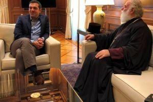Τον Πρωθυπουργό Αλέξη Τσίπρα επισκέφθηκε ο Πατριάρχης Αλεξανδρείας Θεόδωρος