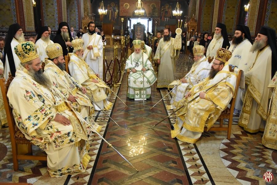 Λαμπρά πανήγυρις Καθεδρικού Ναού Θ. Αναλήψεως Κατερίνης