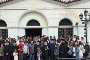 Η Ριζάρειος Εκκλησιαστική Σχολή επισκέφθηκε τον Οσιο Ιωάννη τον Ρώσσο