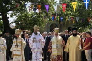 Λαμπρός εορτασμός του Πολιούχου Θηβών, Αγίου Ιωάννου του Νέου Ελεήμονος