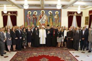 Γεύμα του Αρχιεπισκόπου Κύπρου σε θρησκευτικούς ηγέτες του νησιού