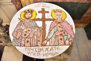 Η εορτή των Αγίων Κωνσταντίνου και Ελένης στον Μητροπολιτικό Ιερό Ναό Πειραιώς