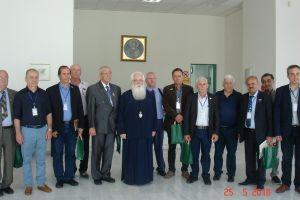 Έφεδροι από την Κύπρο επισκέφθηκαν τον Μητροπολίτη Δημητριάδος Ιγνάτιο