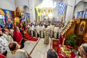 Ο Σεβασμιώτατος Μητροπολίτης Λαγκαδά, Λητής και Ρεντίνης κ.κ. Ιωάννης, χοροστάτησε του Πανηγυρικού Αρχιερατικού Εσπερινού της εορτής του Αγίου Αποστόλου και Ευαγγελιστού Ιωάννου του Θεολόγου