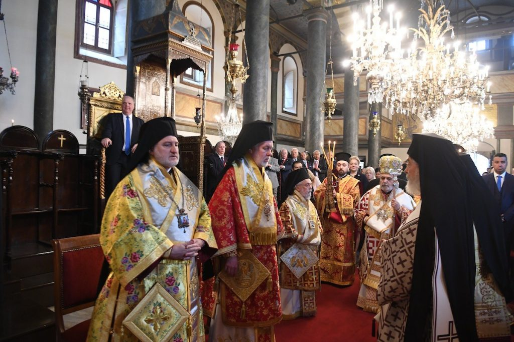 Η εορτή των Αγίων Αρχιεπισκόπων και Πατριαρχών Κωνσταντινουπόλεως στο Φανάρι