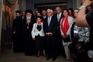 Παρουσία του Αρχιεπισκόπου τα εγκαίνια της έκθεσης «Πανάγιος Τάφος. Το μνημείο και το έργο»