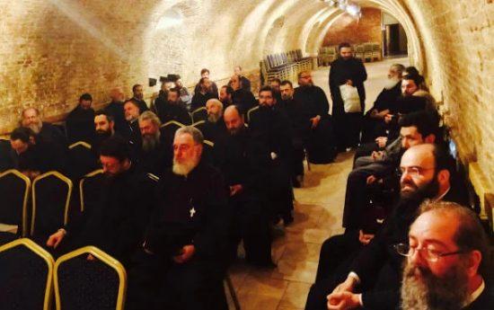 Σεμινάριο νέων κληρικών της Ι.Μ. Κερκύρας.
