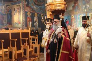 Πατριαρχική Θεία Λειτουργία από τον Αντιοχείας Ιωάννη, στην Ι. Μονή Παναγίας του Έβρου