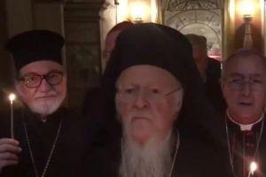 Ο Οικουμενικός Πατριάρχης Βαρθολομαίος στη Βασιλική των Αγίων Δώδεκα Αποστόλων στη Ρώμη