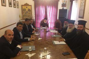Ολοι οι βουλευτές της Κρήτης στην Ιερά Σύνοδο