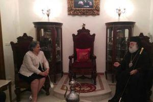 Εισαγγελείς του Αρείου Πάγου υποδέχθηκε ο Πατριάρχης Αλεξανδρείας Θεόδωρος στο Κάιρο